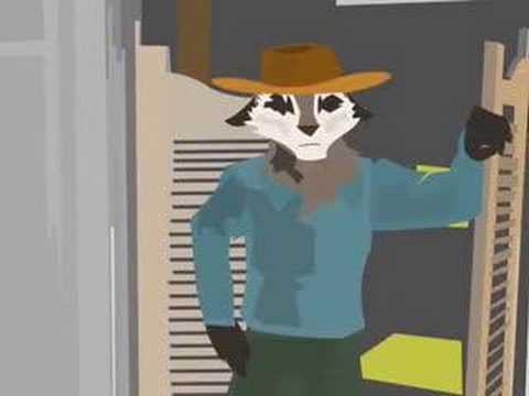 Rocky Racoon Animation