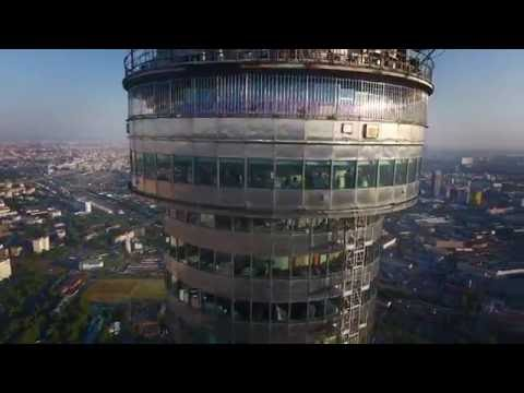Ostankino TV tower / Observation deck @ 337 meters :: DJI Phantom 4