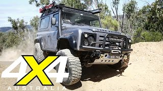 Modified Land Rover Defender 90 | Custom 4x4 | 4X4 Australia