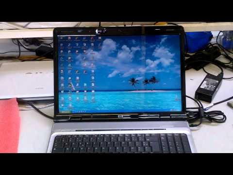 HP Pavilion dv9000 Laptop Motherboard Repair | Job Completed