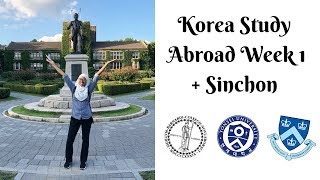 KOREA STUDY ABROAD WEEK 1 + SINCHON | VLOG #10