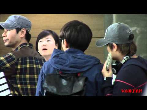 121028 incheon airport (go to nanjing) ryeowook fancam