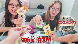 Cùng chơi Monopoly cờ tỉ phú phiên bản World Edition xài thẻ ATM thay tiền giấy