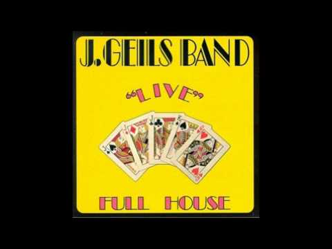 J. Geils Band - Hard Drivin' Man - Live Full House