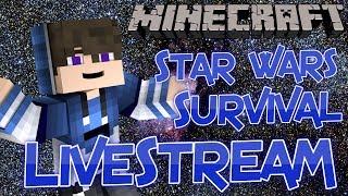 Zig-Zach Gamer Live Stream Series - Minecraft Star Wars - Episode 4 - Search for Kyber Crystals