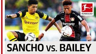 Jadon Sancho vs. Leon Bailey - Two Youngsters Go Head2Head