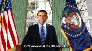 1:26-Don't Know What DOJ Might Do-Unless I See'The View'