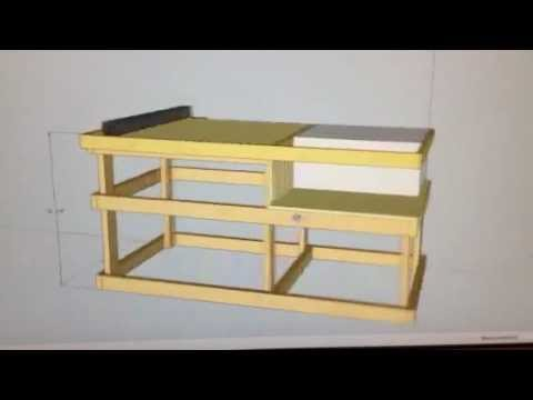 Table Saw Station Part1 Youtube