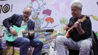NAMM 2018 | Adam Levy & Mike Miller live @ the JAM pedals booth #1