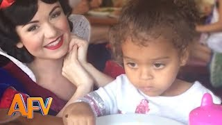 Funny Theme Park Videos! | AFV Funniest Kids Compilation