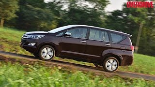 Toyota Innova Crysta - First Drive Review (India)