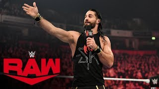WALTER answers Seth Rollins' challenge: Raw, Nov. 11, 2019