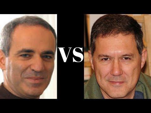Tarrasch Defence: Garry Kasparov vs Miguel Illescas-Cordoba - Linares 1990 - Tarrasch Defense (D34)