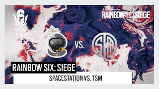 Rainbow 6 North America August Major Day 2 - TSM vs. Spacestation Gaming