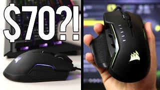 Who would buy a Gaming Mouse for $70? - Corsair Glaive Review