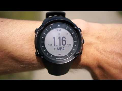Suunto Ambit @FW1.5: Navigation in Action