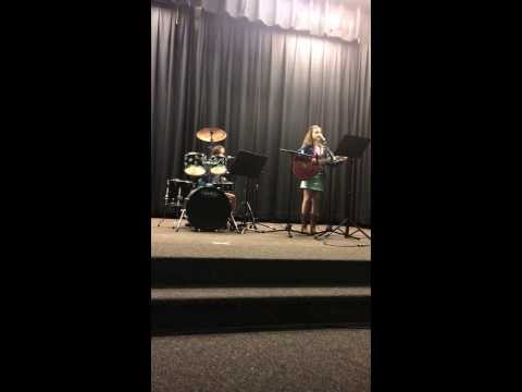Cover: Birmingham by Shovels & Rope @ the Wiley Elementary Talent Show 2014