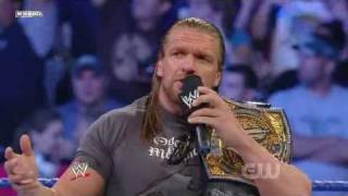 Triple H Returns to Smackdown! (1/2)