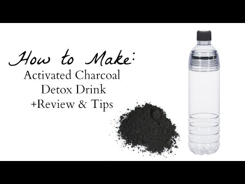 Activated Charcoal Drink Detox- Review & Tips