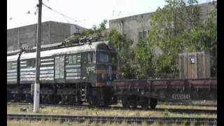 VL8 electric locomotives