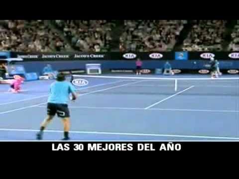 Las 30 Mejores Jugadas De Tenis 2010 (1)