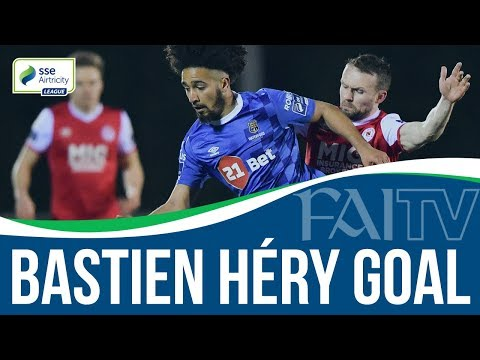 Waterford FC's Bastien Héry scores a screamer!