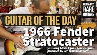 Guitar of the Day: 1966 Fender Stratocaster Clown Burst | Norman's Rare Guitars