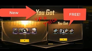 PUBG MOBILE NEW TRICK | NEW VPN TRICK GET FREE SKINS ,CRATES AND ADVANCED ROOM  100% WORKING|TAMIL