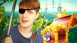EM BUSCA DO TESOURO PIRATA! SEA OF THIEVES C/ Mike Tayr Cafeinado #1