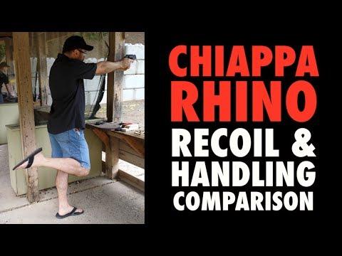 Chiappa Rhino: Recoil & Handling Comparison
