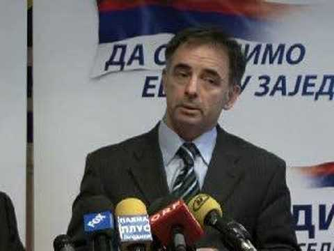 Milorad Pupovac, ethnic Serb representative in the Croatian Sabor (parliament)