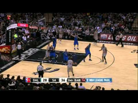 Tony Parker 22 Points 7 Assists Full Highlights Spurs vs Mavericks (3.2.2014)