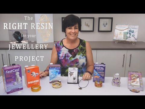 Choosing the Right Resin for your Jewellery Project