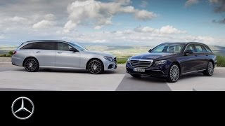 The new E-Class Estate: Trailer - Mercedes-Benz original