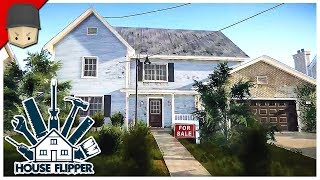 House Flipper - Selling My First House! (House Flipper Beta Gameplay)