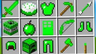 Minecraft ITA - TUTTI GLI OGGETTI DI SMERALDO!!