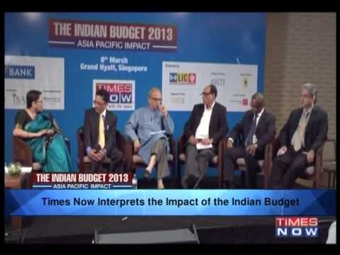 The India Budget 2013 - Asia Pacific Impact (Full Panel)