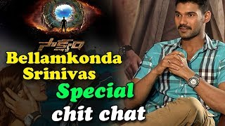 Actor Bellamkonda Srinivas Special Chit Chat on Sakshyam Movie