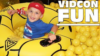 GIANT Ball Pit, Donuts, CANDY, Orbeez, Slime, Pom Pom Wow Real Car, Fidget Spinner STUCK IN MY HAIR!