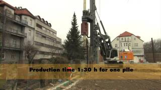 Liebherr LB 28 - Rotary drilling rig for deep foundation
