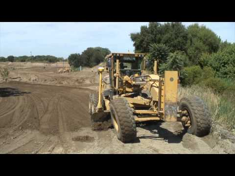Building a Setback Levee in West Sacramento