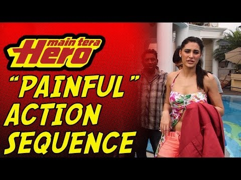 Wet & Painful Action Sequence!! Main Tera Hero