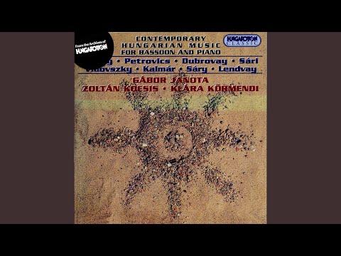 Three Movements for Bassoon and Piano - I. Allegro giocoso