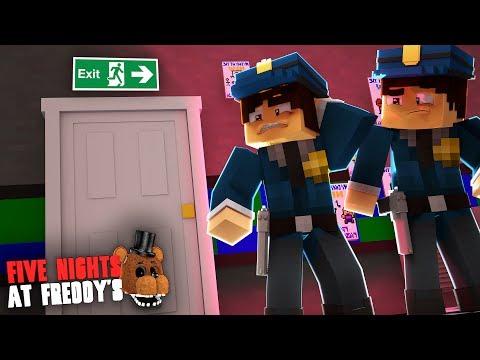 Minecraft: FIVE NIGHTS AT FREDDY'S #70 - A SAÍDA DA PIZZARIA?