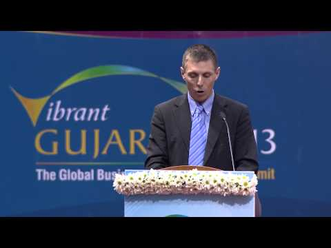 Patrick Brown's speech during inaugural ceremony of Vibrant Gujarat Global Summit 2013