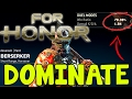 Download Dominate For Honor - BEST BERSERKER GUIDE in Mp3, Mp4 and 3GP