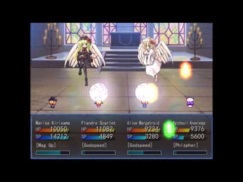 Blizzard of Faith & Revenge - Extra Chapter Higan - Boss 04 - Lily White and Lily Black