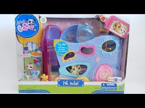 LPS Littlest Pet Shop Pet Hotel Set 2011 Review