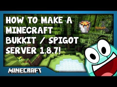 How To Make A Bukkit/Spigot 1.7-1.8.x Server on Windows 7/8/8.1/10 [ In-Depth ] Tutorial