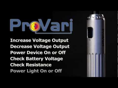ProVari Variable Voltage Electronic Cigarette